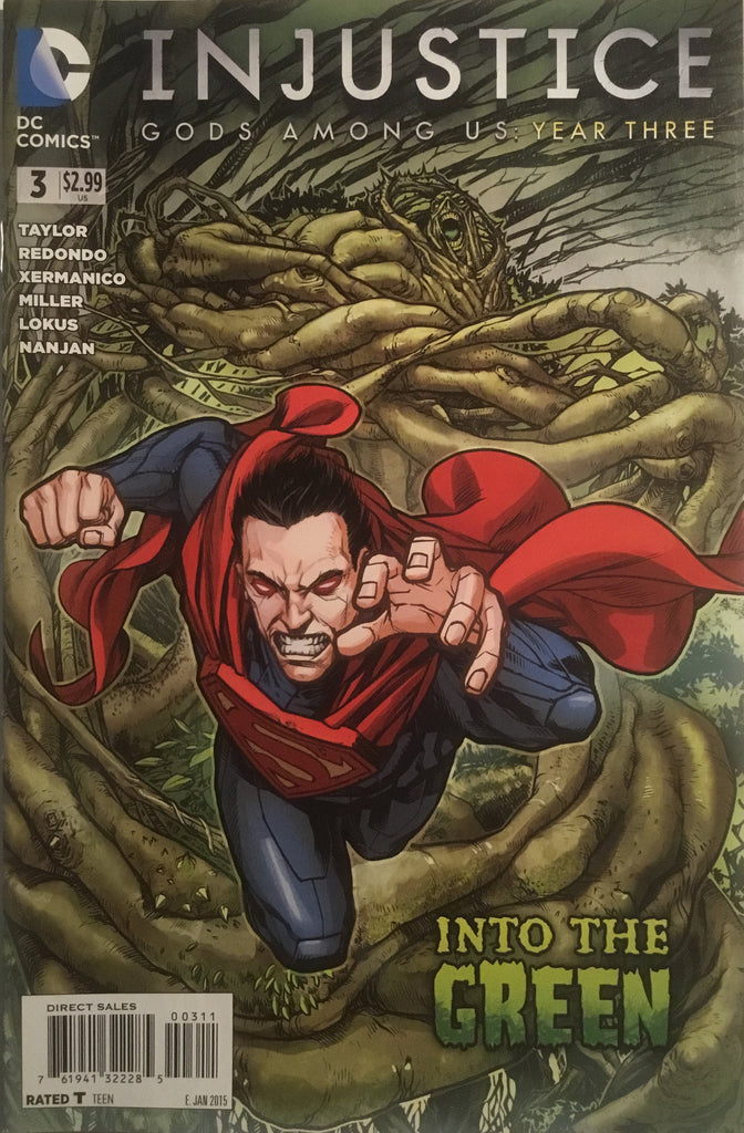 INJUSTICE GODS AMONG US YEAR THREE # 3