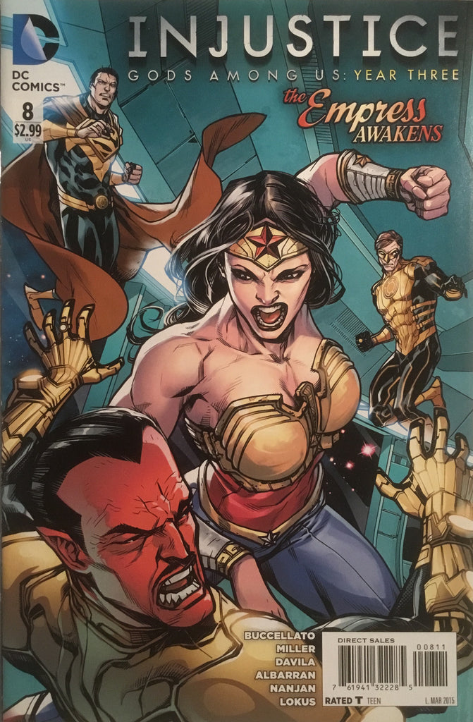 INJUSTICE GODS AMONG US YEAR THREE # 8