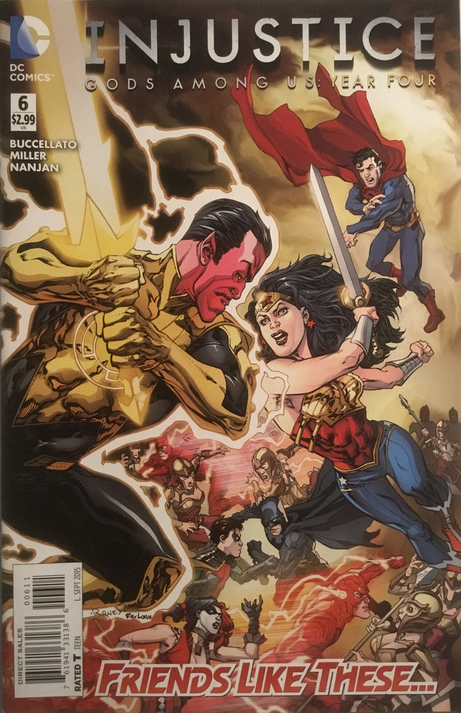 INJUSTICE GODS AMONG US YEAR FOUR # 6
