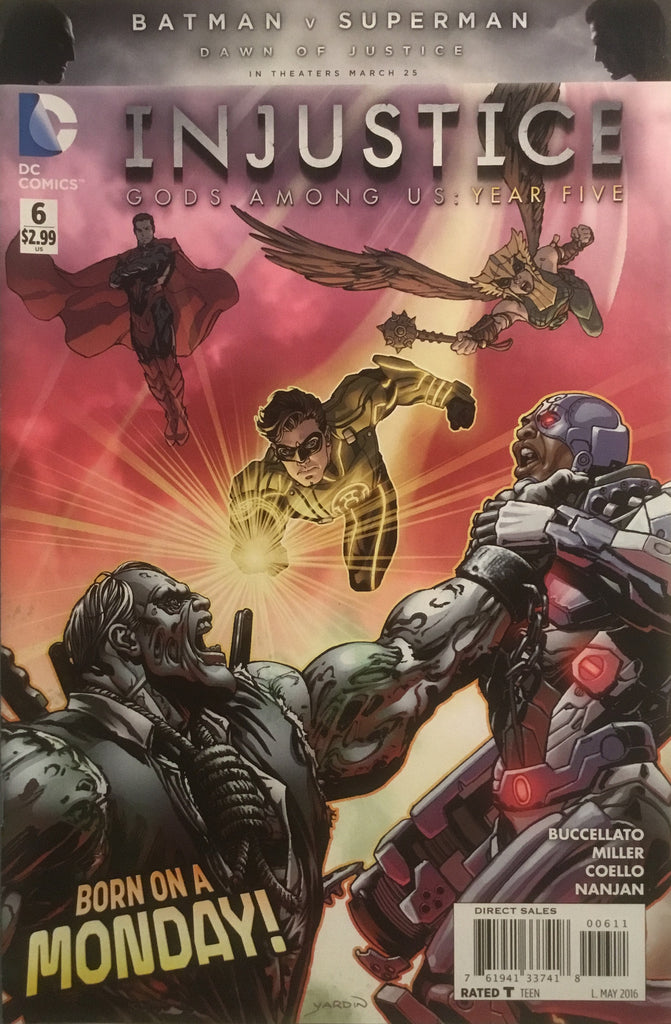 INJUSTICE GODS AMONG US YEAR FIVE # 6