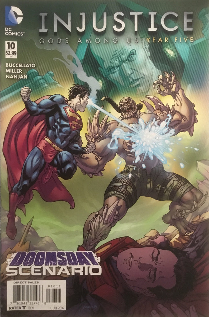 INJUSTICE GODS AMONG US YEAR FIVE #10