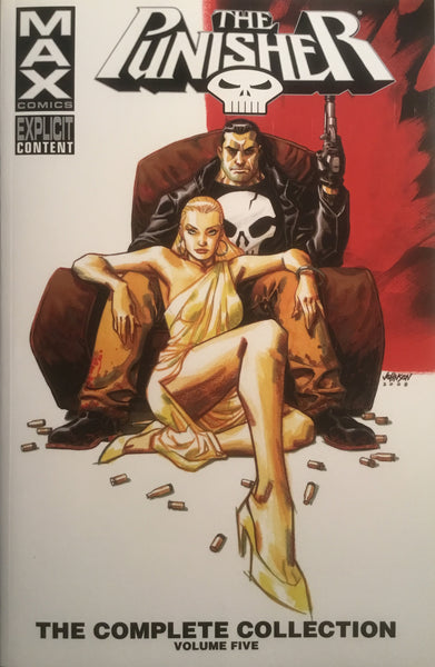 PUNISHER MAX THE COMPLETE COLLECTION VOLUME 5 GRAPHIC NOVEL