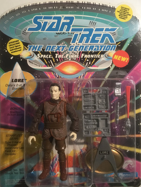 STAR TREK THE NEXT GENERATION LORE ACTION FIGURE