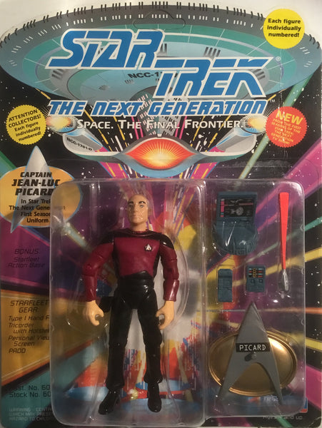 STAR TREK THE NEXT GENERATION CAPTAIN JEAN-LUC PICARD ACTION FIGURE