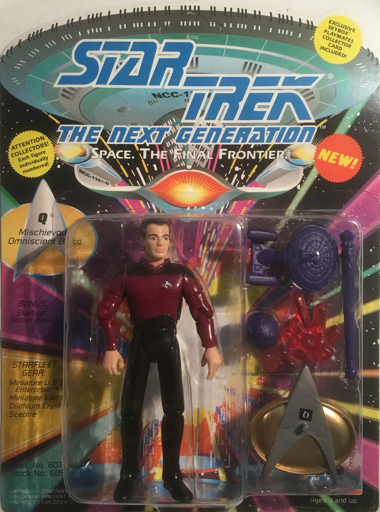 STAR TREK THE NEXT GENERATION Q ACTION FIGURE