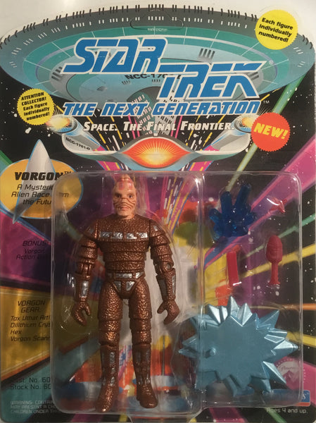 STAR TREK THE NEXT GENERATION VORGON ACTION FIGURE