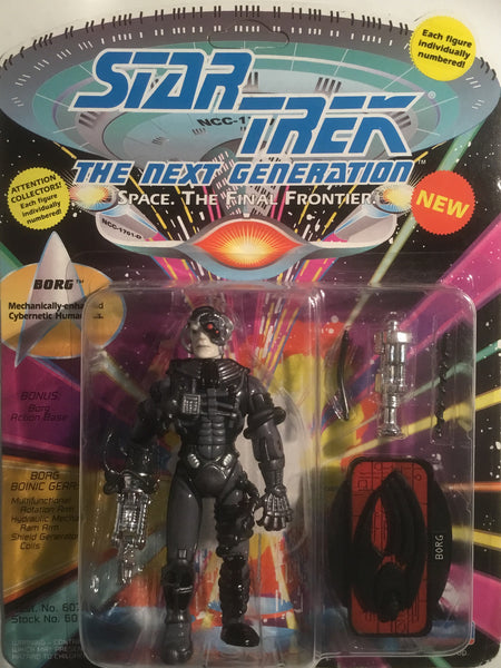 STAR TREK THE NEXT GENERATION BORG ACTION FIGURE