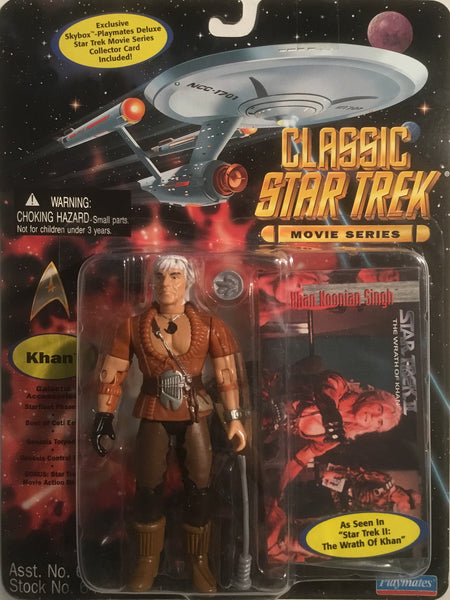 STAR TREK CLASSIC MOVIE SERIES KHAN ACTION FIGURE