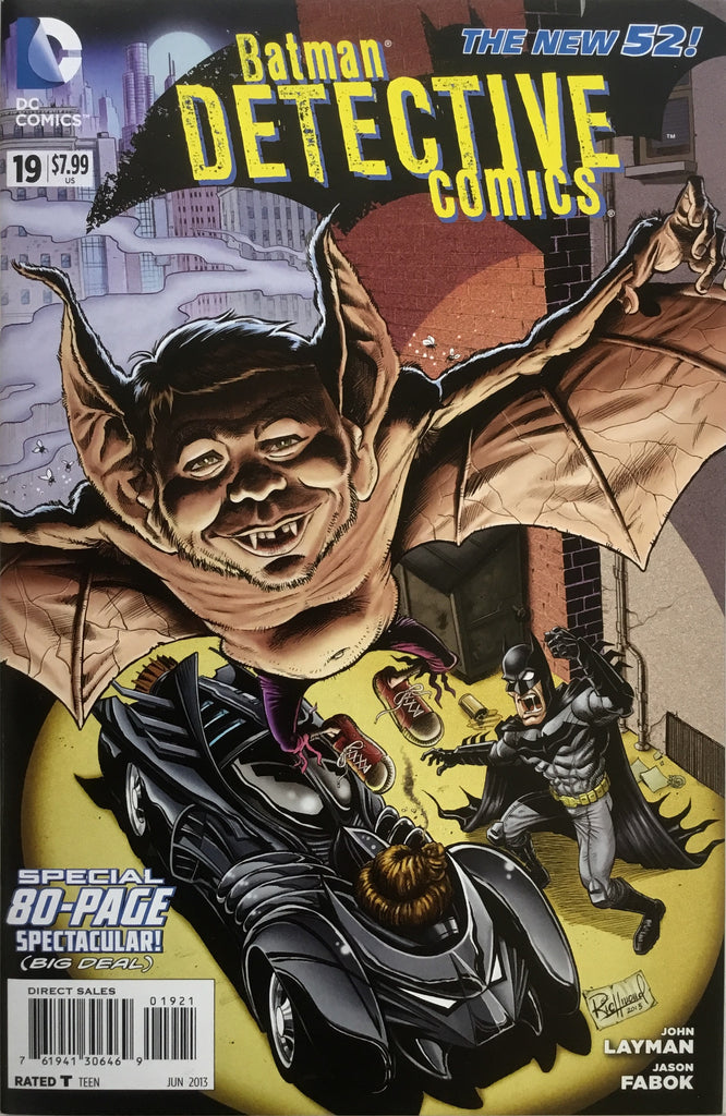 DETECTIVE COMICS #19 (THE NEW 52) MAD 1:10 VARIANT COVER
