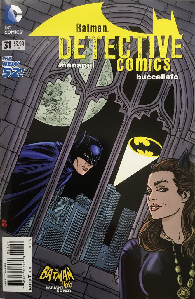 DETECTIVE COMICS #31 (THE NEW 52) BATMAN '66 1:25 VARIANT COVER