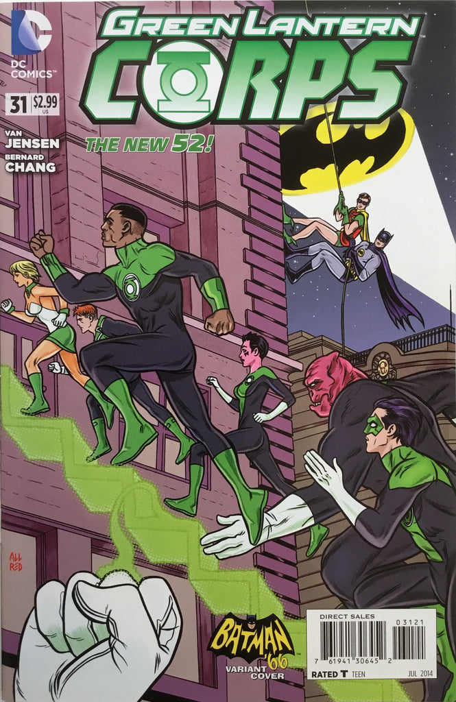 GREEN LANTERN CORPS (NEW 52) # 31 BATMAN '66 1:25 VARIANT COVER