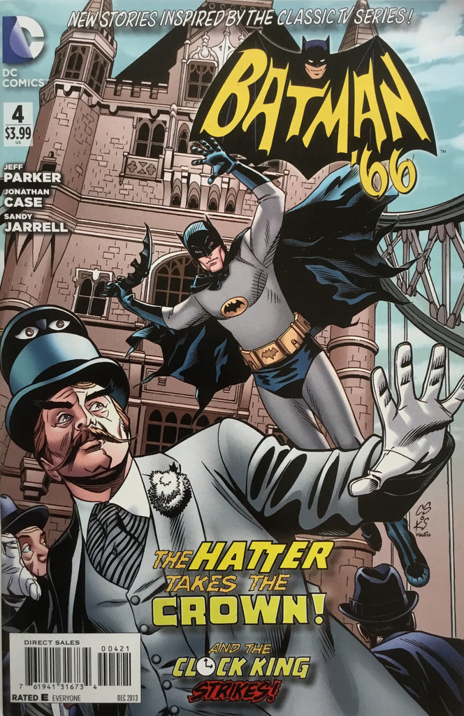 BATMAN '66 # 4 SPROUSE 1:25 VARIANT COVER