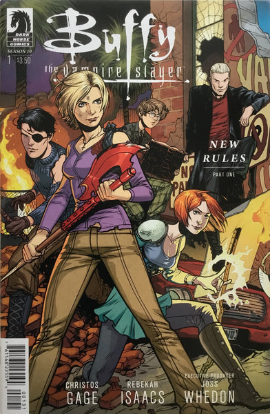 BUFFY THE VAMPIRE SLAYER SEASON TEN # 1 (1:20 VARIANT)