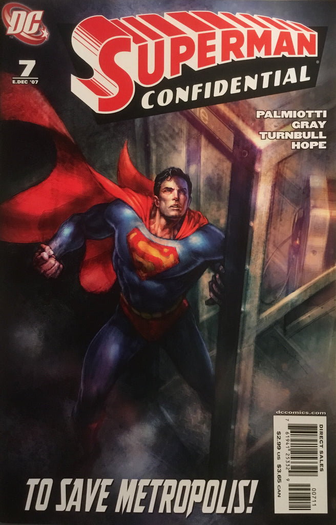 SUPERMAN CONFIDENTIAL # 7