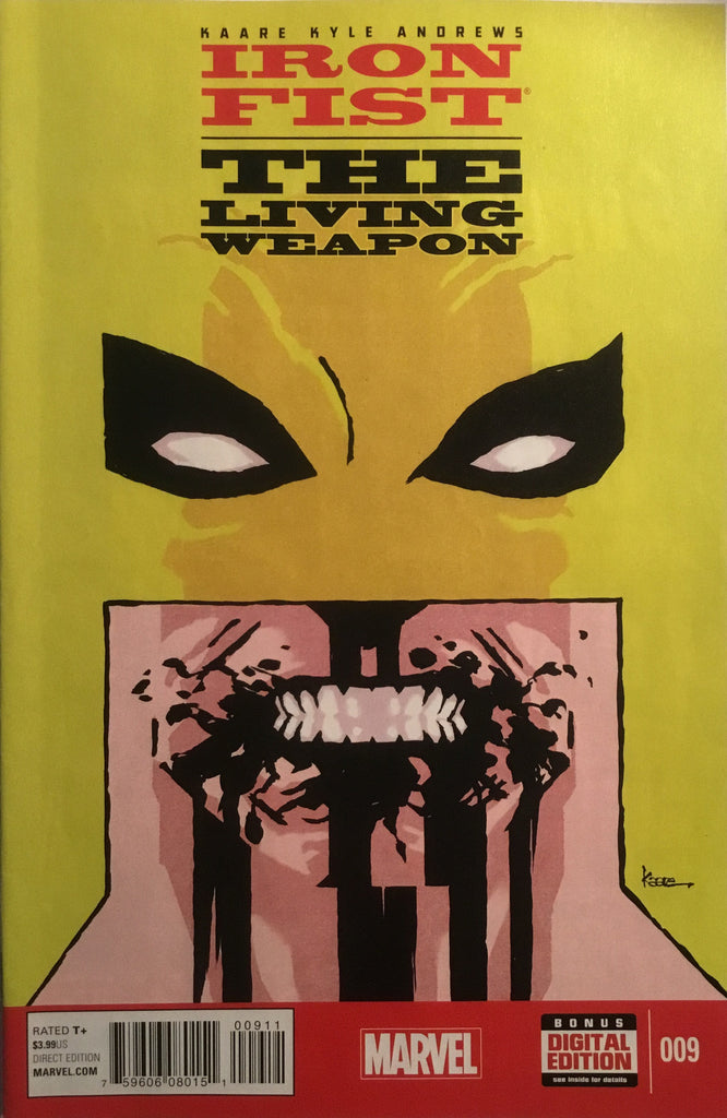 IRON FIST THE LIVING WEAPON # 9