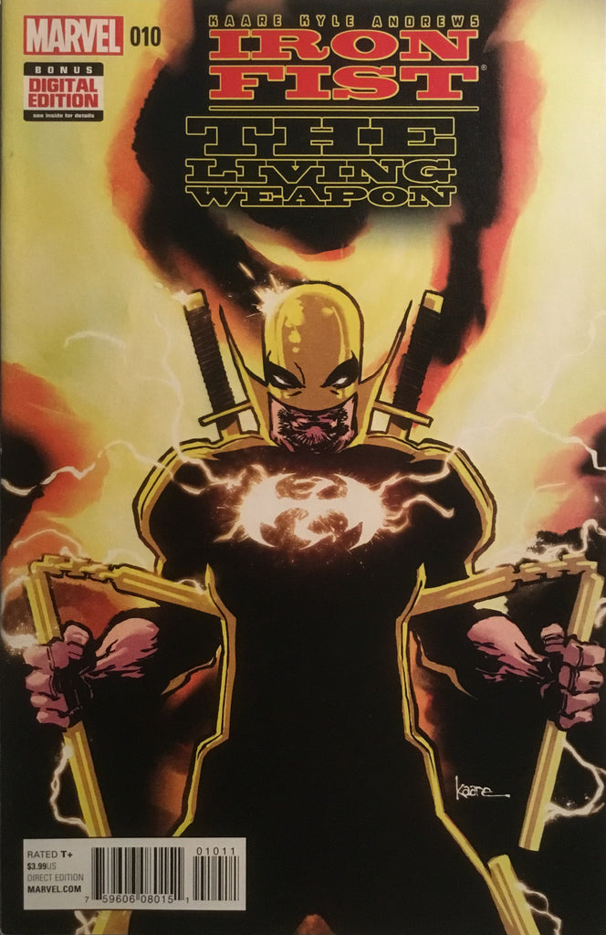 IRON FIST THE LIVING WEAPON #10