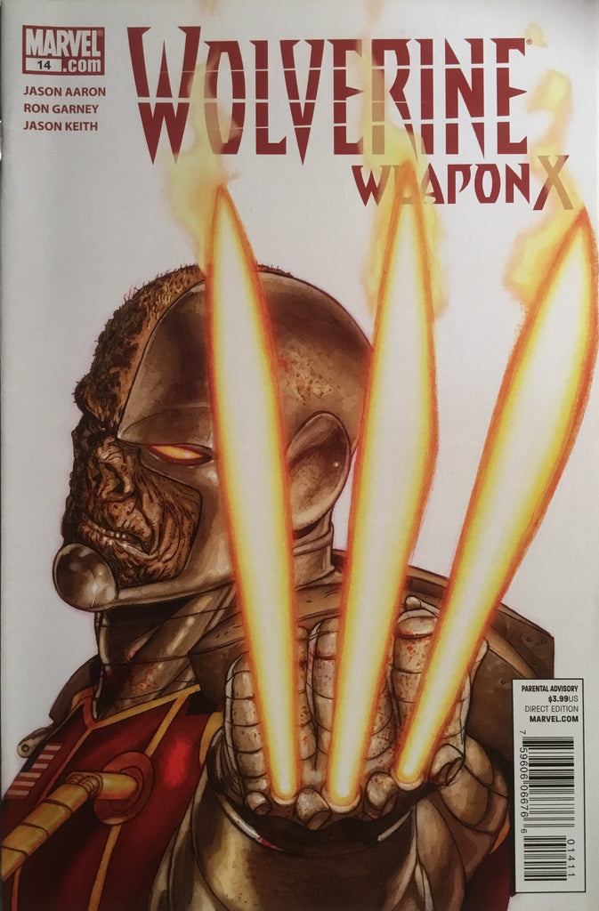 WOLVERINE WEAPON X #14