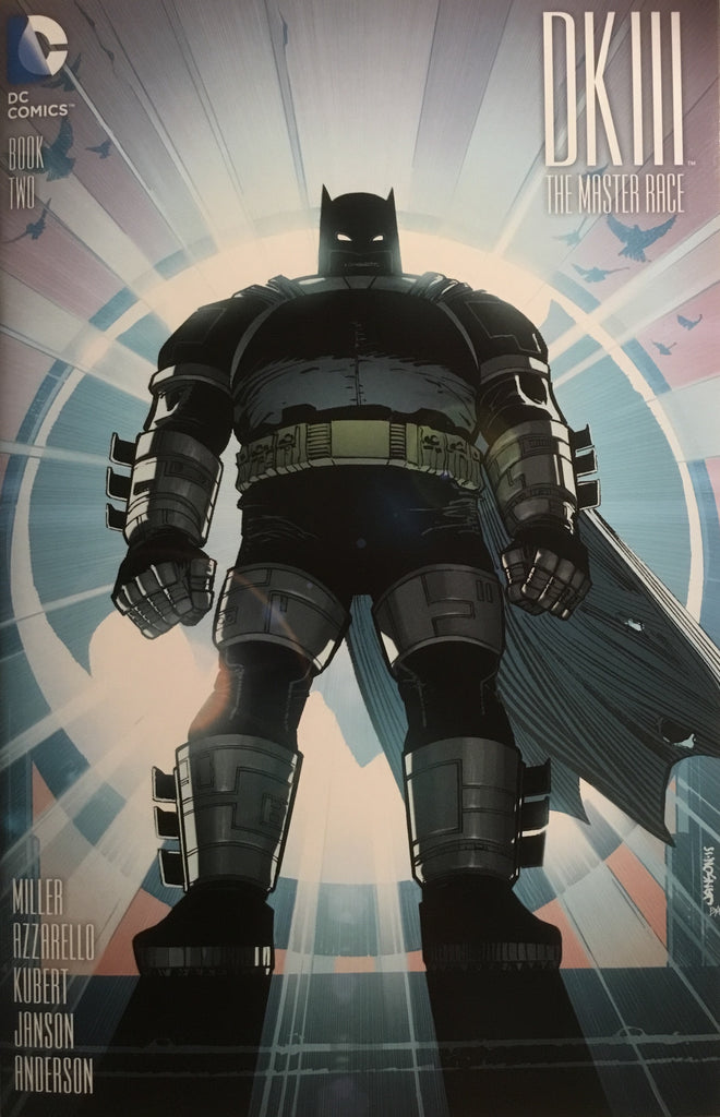 BATMAN DARK KNIGHT III : THE MASTER RACE # 2 (JANSON 1:25 VARIANT COVER)