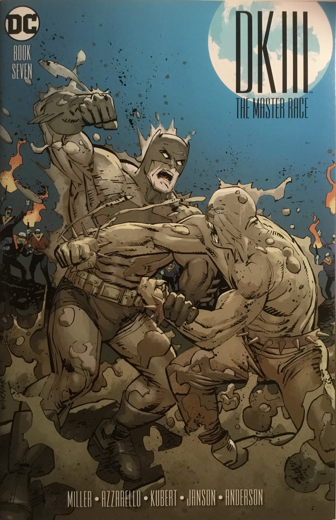 BATMAN DARK KNIGHT III : THE MASTER RACE # 7 (JANSON 1:25 VARIANT COVER)