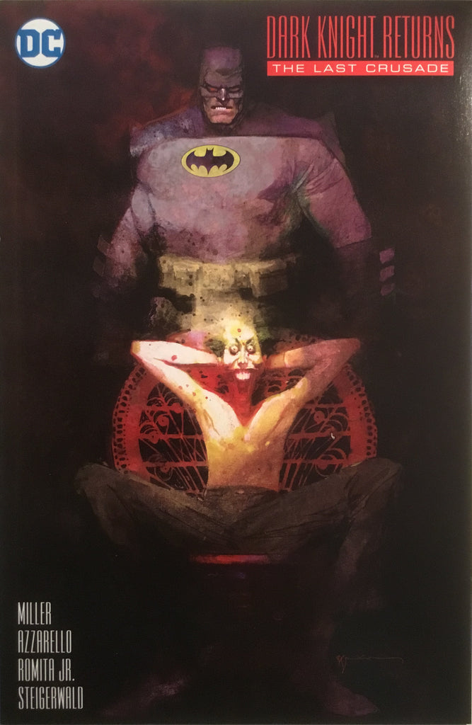 BATMAN DARK KNIGHT RETURNS : THE LAST CRUSADE (SIENKIEWICZ 1:25 VARIANT)