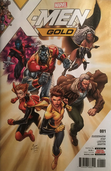 X-MEN GOLD # 1 FIRST PRINTING