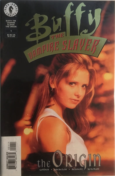 BUFFY THE VAMPIRE SLAYER THE ORIGIN # 1 PHOTO COVER GOLD LIMITED EDITION # 3353