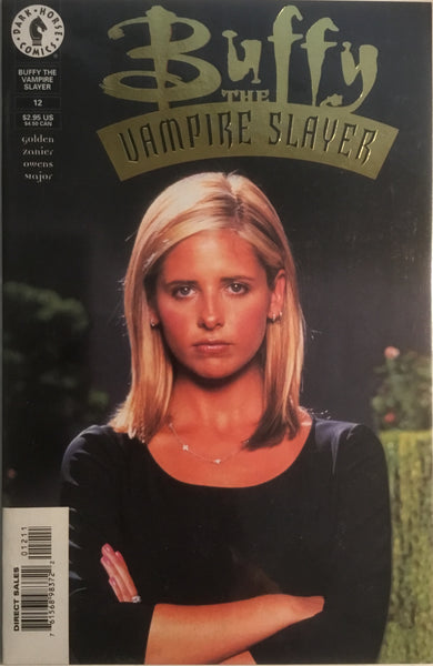 BUFFY THE VAMPIRE SLAYER PHOTO COVER # 12 GOLD LIMITED EDITION # 2358