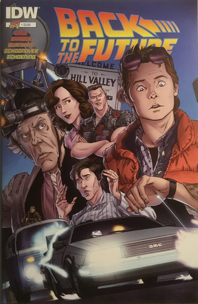 BACK TO THE FUTURE # 1 FIRST PRINTING