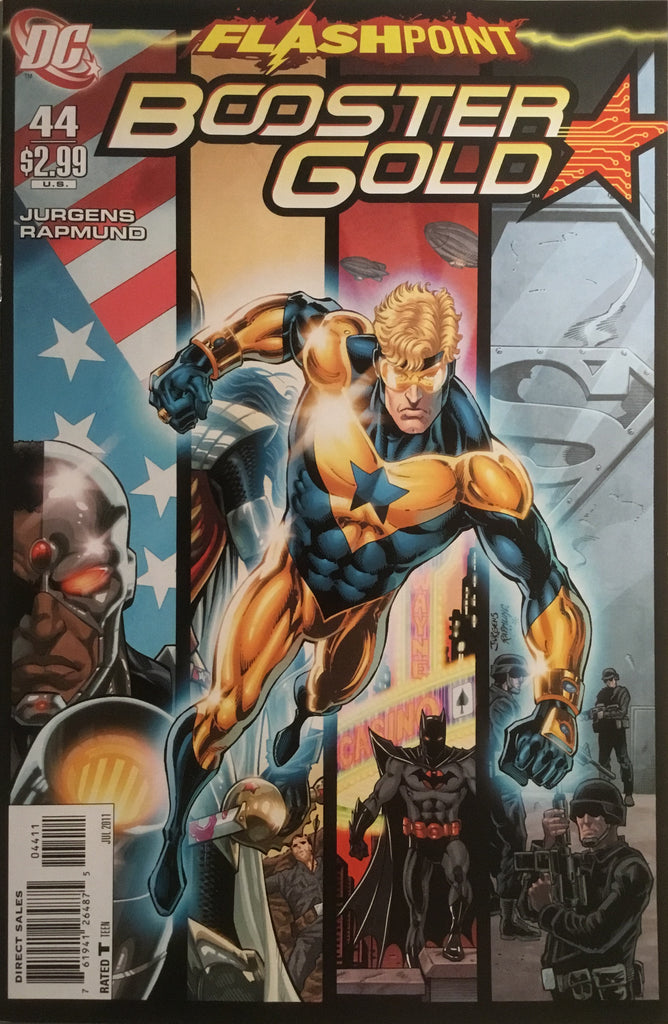 BOOSTER GOLD #44 (2007-2011)