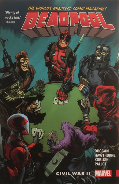 DEADPOOL WORLD'S GREATEST VOL 05 CIVIL WAR II GRAPHIC NOVEL