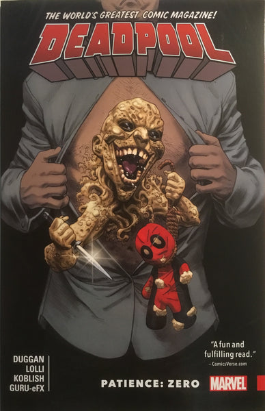 DEADPOOL WORLD'S GREATEST VOL 06 PATIENCE : ZERO GRAPHIC NOVEL
