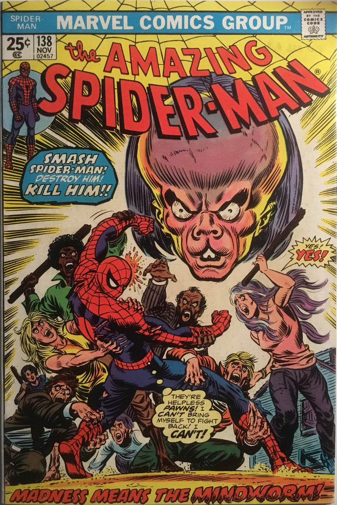 AMAZING SPIDER-MAN (1963-1998) # 138