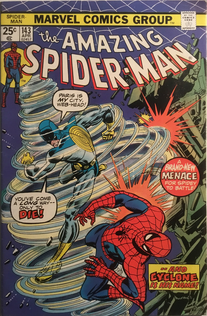 AMAZING SPIDER-MAN (1963-1998) # 143