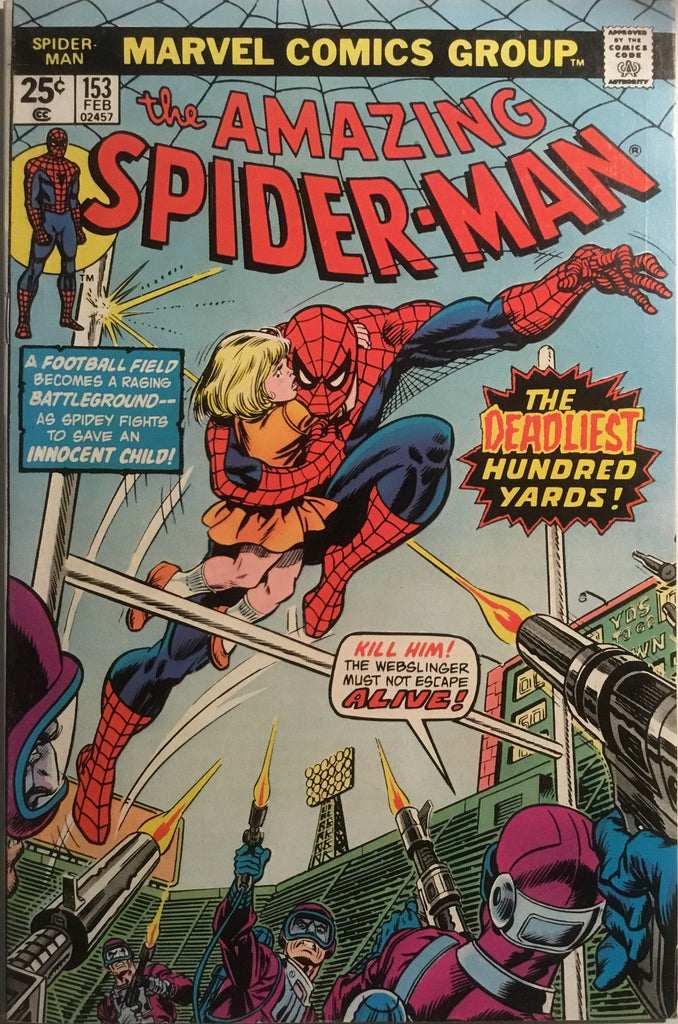 AMAZING SPIDER-MAN (1963-1998) # 153