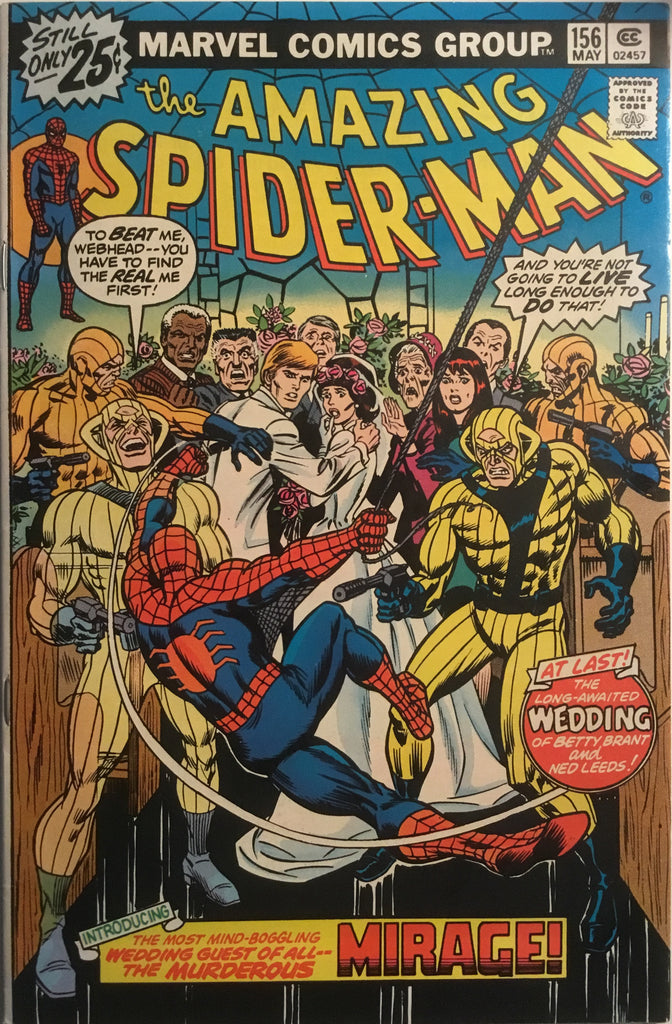AMAZING SPIDER-MAN (1963-1998) # 156