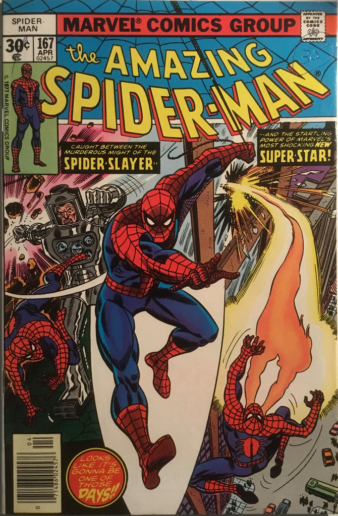 AMAZING SPIDER-MAN (1963-1998) # 167