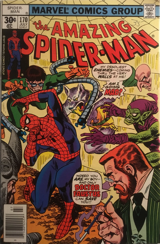 AMAZING SPIDER-MAN (1963-1998) # 170