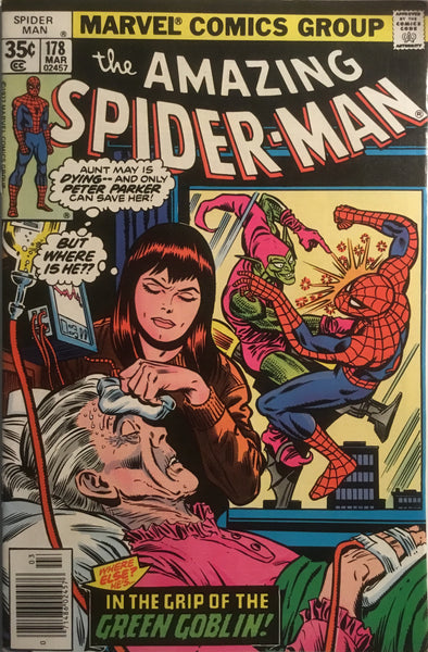 AMAZING SPIDER-MAN (1963-1998) # 178