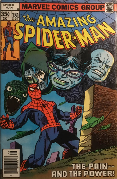 AMAZING SPIDER-MAN (1963-1998) # 181