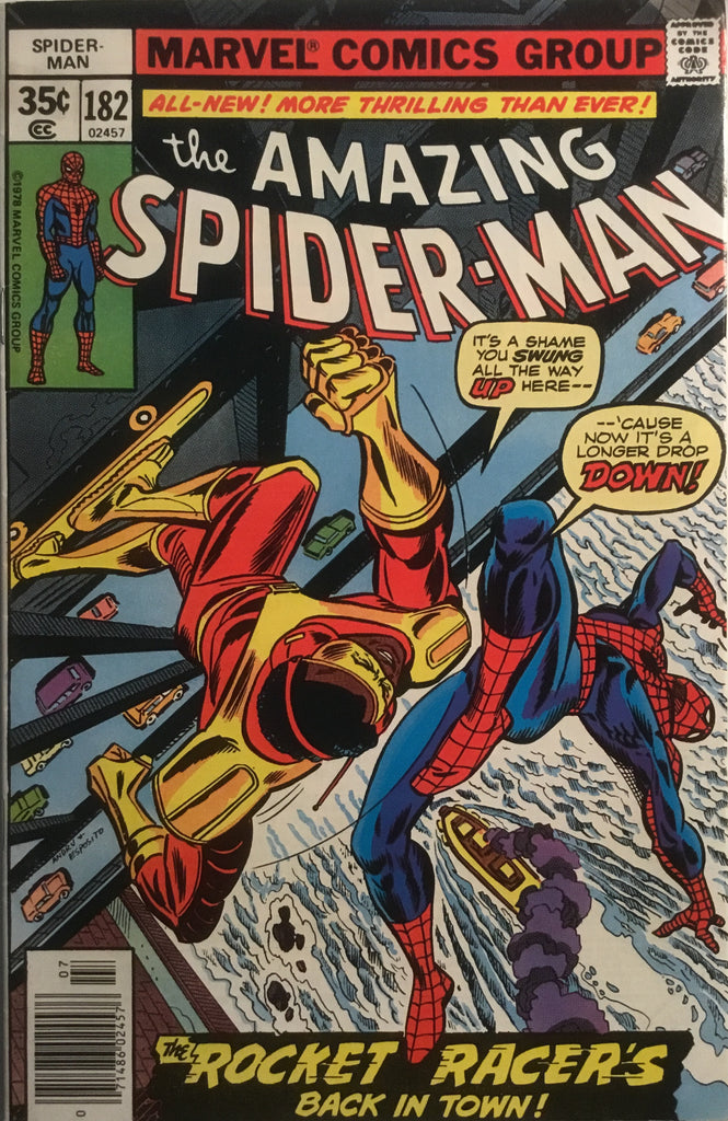 AMAZING SPIDER-MAN (1963-1998) # 182