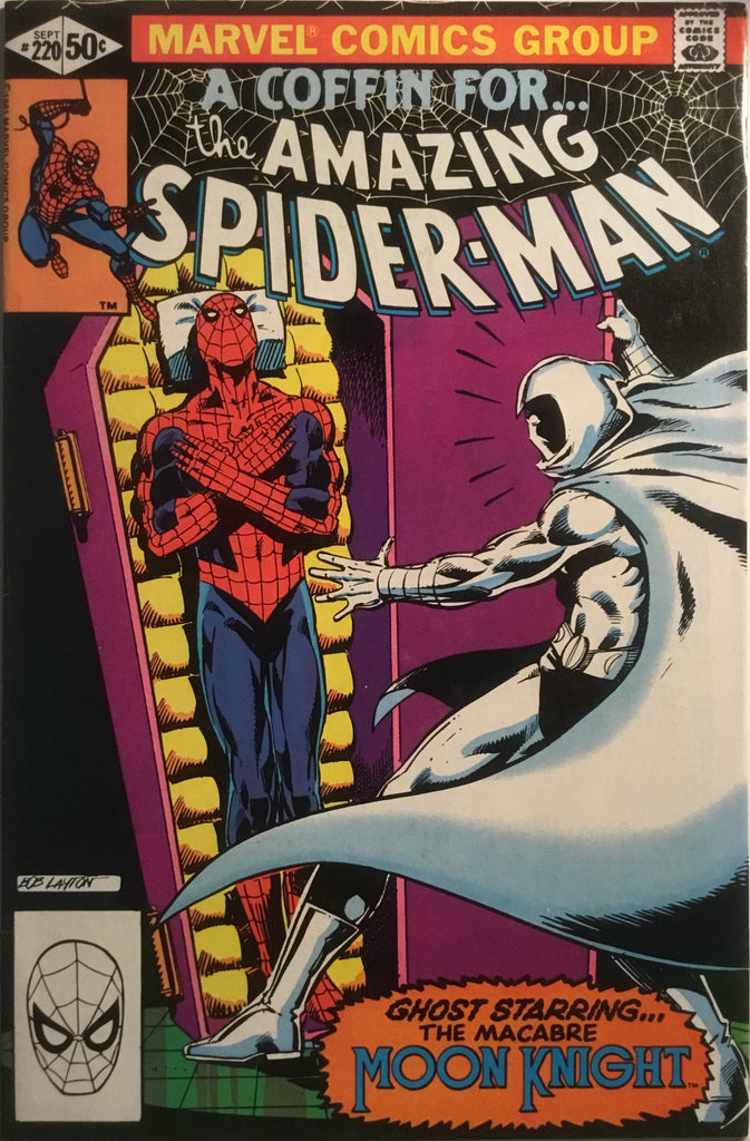 AMAZING SPIDER-MAN (1963-1998) # 220