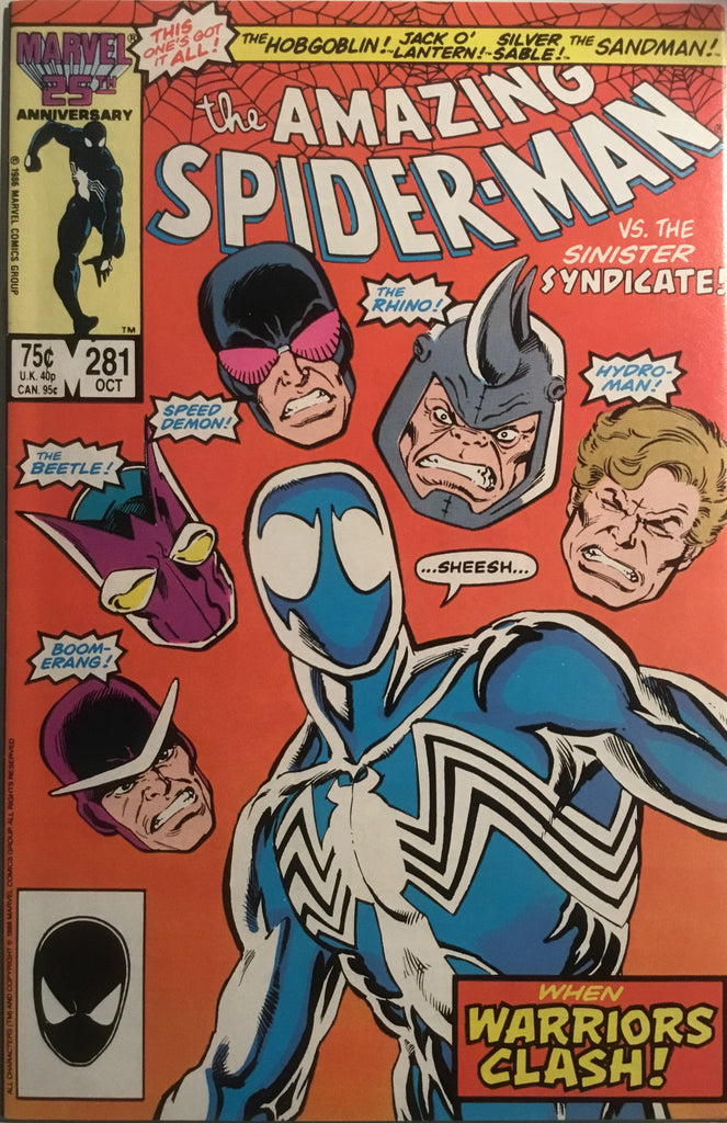 AMAZING SPIDER-MAN (1963-1998) # 281