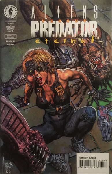ALIENS VERSUS PREDATOR : ETERNAL # 1 - 4