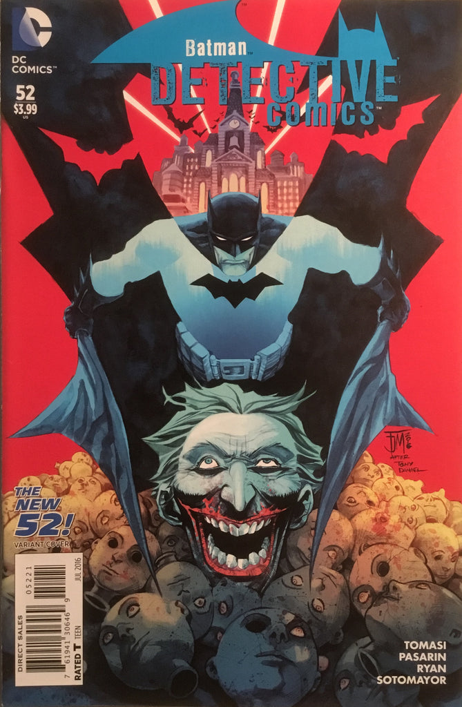 DETECTIVE COMICS #52 (THE NEW 52) MANAPUL VARIANT COVER