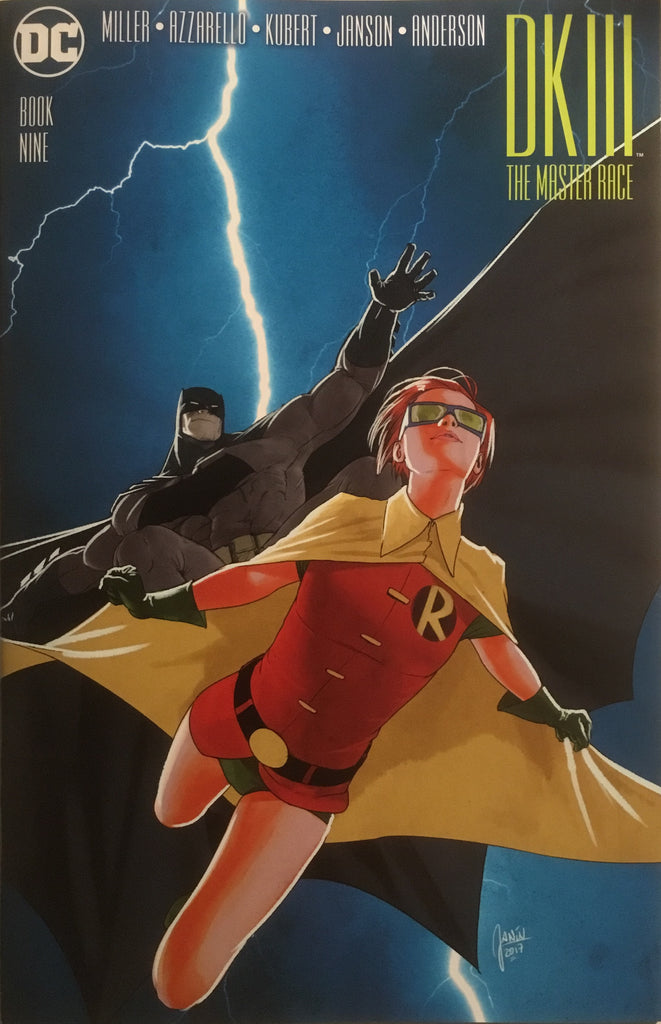 BATMAN DARK KNIGHT III : THE MASTER RACE # 9 (JANIN 1:10 VARIANT COVER)