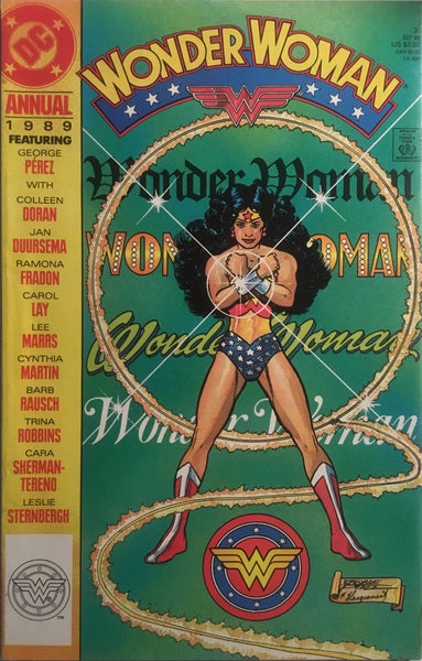 WONDER WOMAN (1987-2006) ANNUAL # 2