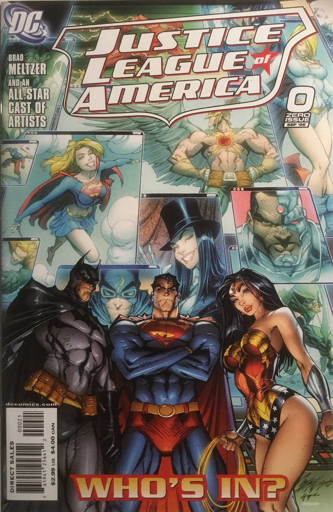 JUSTICE LEAGUE OF AMERICA (2006-2011) # 0 CAMPBELL 1:10 VARIANT