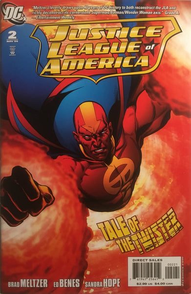 JUSTICE LEAGUE OF AMERICA (2006-2011) # 02 JIMENEZ 1:10 VARIANT