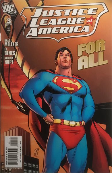 JUSTICE LEAGUE OF AMERICA (2006-2011) # 03 SPROUSE 1:10 VARIANT