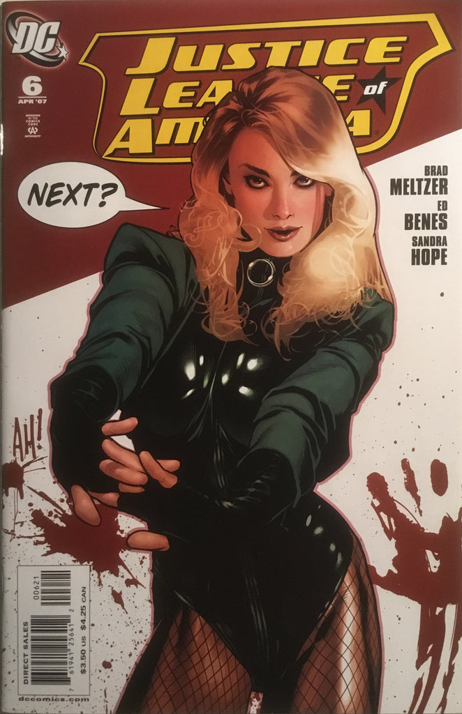 JUSTICE LEAGUE OF AMERICA (2006-2011) # 06 ADAM HUGHES 1:10 VARIANT